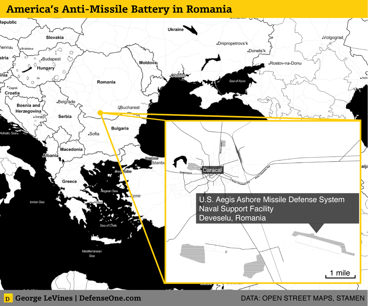 America's Anti Missile Battery in Romania